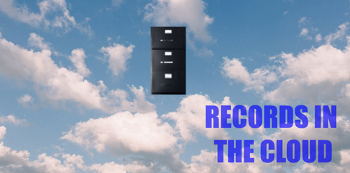 Cloud based record keeping