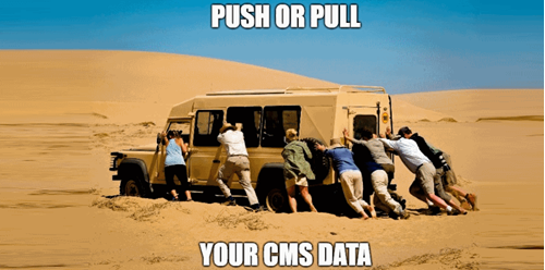Push to, or pull from Salesforce