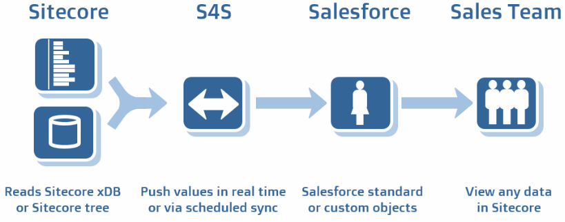 S4S Push data to Salesforce